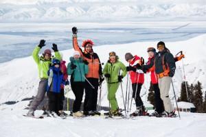 wintersport single reizen in de sneeuw