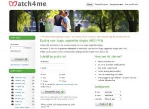 match4me indexpagina