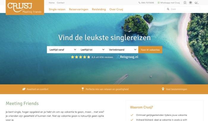 Crusj single reizen website