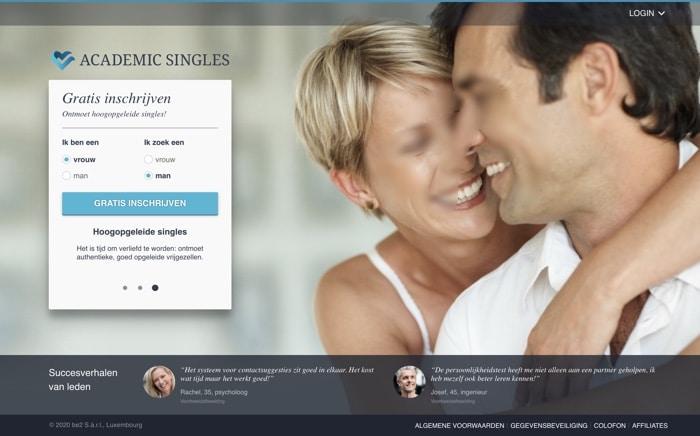academic singles website