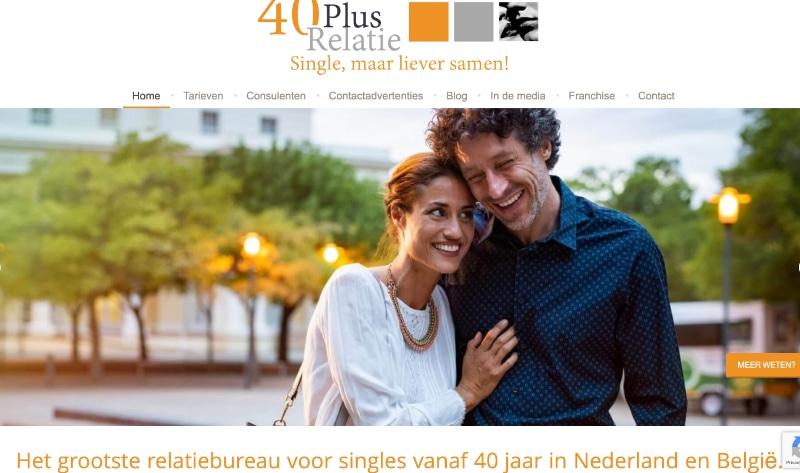 website van 40plusrelatie
